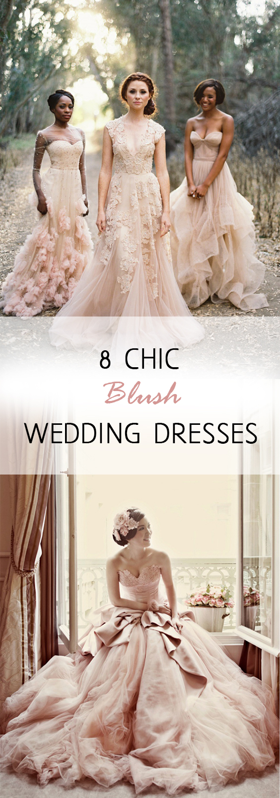 Blush Wedding Dresses, Wedding dresses, wedding dress inspiration, wedding dress hacks, wedding color schemes, wedding fashion, bridal fashion, popular pin, wedding hacks, wedding tips, dream weddings.