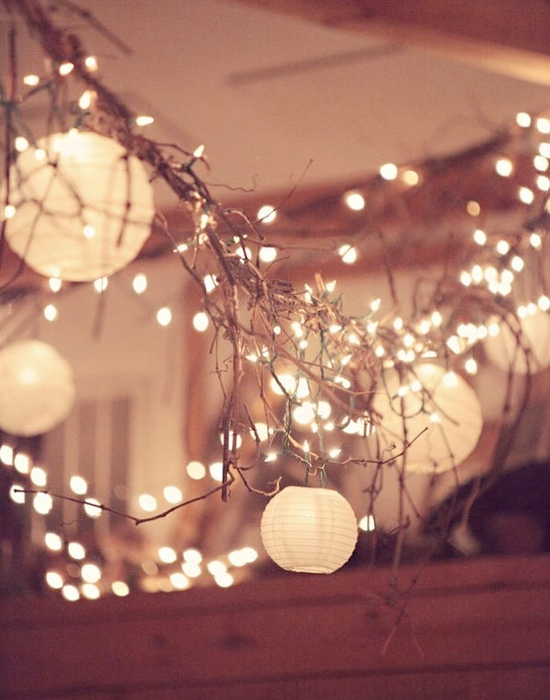 DIY Wedding lighting ideas