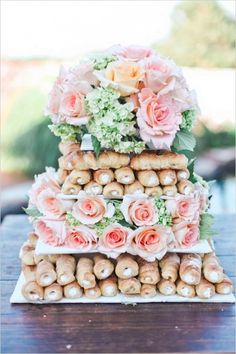 Wedding Cake Alternatives | Cake Alternatives | Wedding Cakes | Non-Traditional Wedding Cakes | Wedding Cake Alternative Ideas | Non-Traditional Wedding Cake Ideas | Cakes