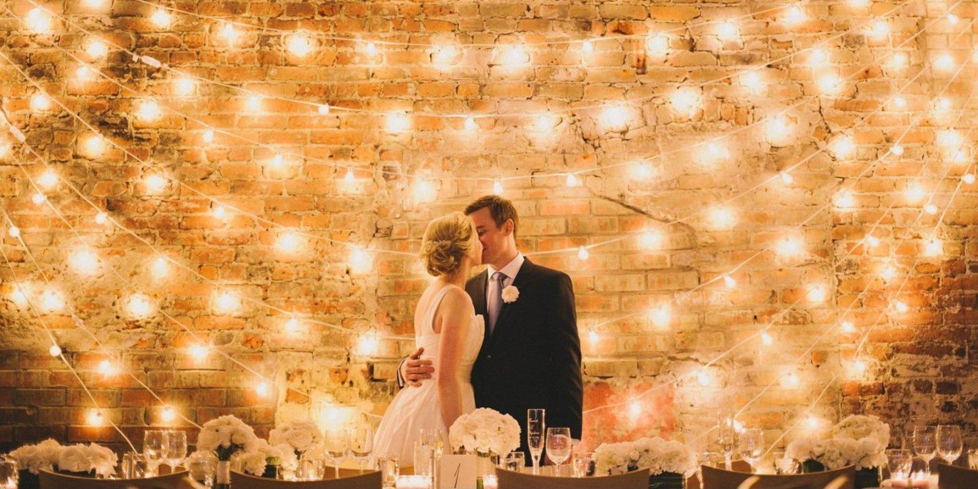 Wedding lighting ideas for receptions
