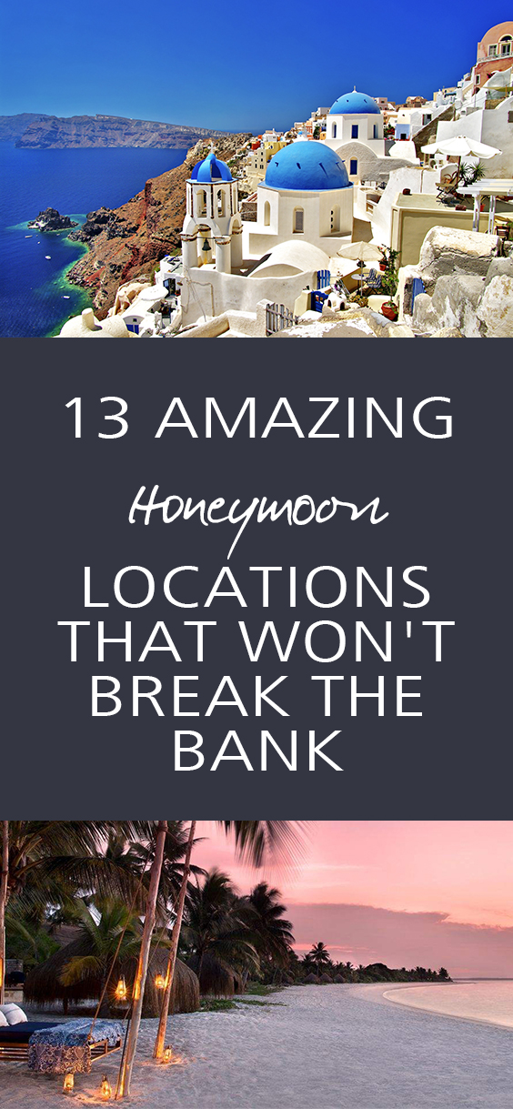 Affordable honeymoon destinations,