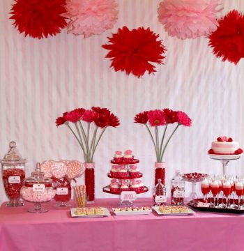 valentine's day table decorations ideas