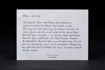 Thank-You Notes, Wedding Thank You Notes, Wedding Thank You, Thank You Note Ideas, Pretty Thank You Notes, Life Hacks, Life Tips and Tricks, Wedding Hacks