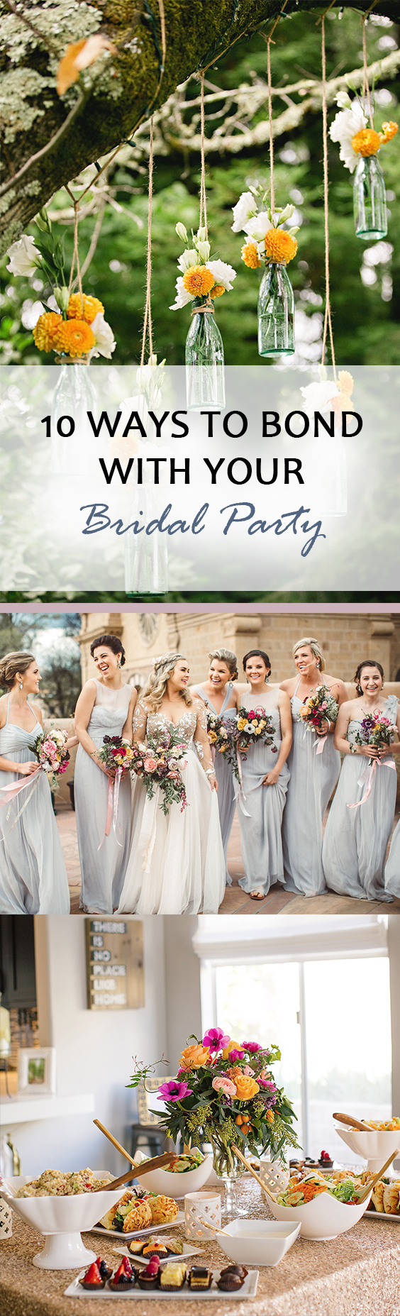 Bridal Party Activites, How to Bond With Your Bridal Party, Bridal Party Tips and Tricks, Things to Do With Your Bridal Party, Popular Pin.