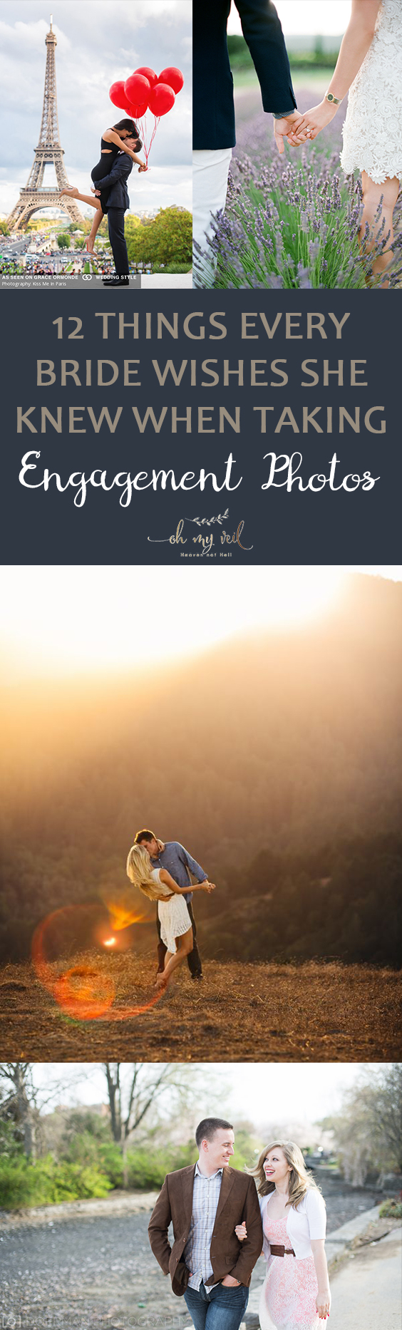 Taking Engagement Photos | Tips and Tricks for Taking Engagement Photos | Engagement Photos | Engagement | Wedding Planning | Wedding Photos