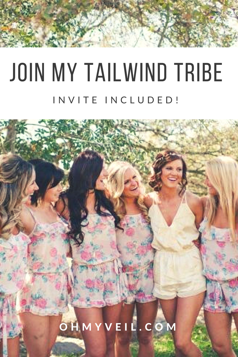 Tailwind Tribe | Oh My Veil Tailwind Tribe | Tailwind | Social Media | Oh My Veil Tailwind | Tailwind Invitation