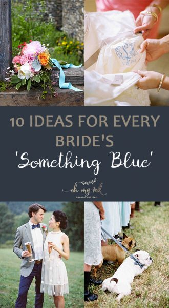 Something Blue | Something Blue in your Wedding | Wedding Planning | Wedding Traditions | Something Blue Wedding Tradition | Incorporate Something Blue into your Wedding