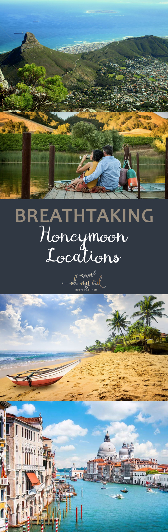 Breathtaking Honeymoon Locations  Honeymoon Locations, Fun Honeymoon Locations, How to Plan Your Honeymoon, Wedding, Honeymoon 101, Honeymoon Planning TIps and Tricks, Honeymoon Travel Tips, Popular Pin
