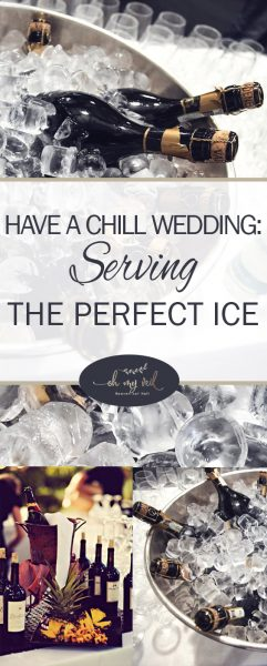 Have a Chill Wedding: Serving the Perfect Ice| Wedding Ice, Wedding Reception, Wedding Reception Tips and Tricks, Ice For Your Wedding, Ice That Is Perfect for Your Wedding