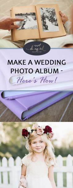 Make a Wedding Photo Album — Here's How! How to Make a Wedding Photo Album, Making a Wedding Photo Album, Wedding, Wedding Tips and Tricks, Wedding Projects, DIY Wedding Projects, Wedding Hacks, Wedding 101, DIY Wedding