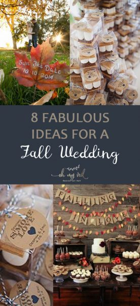Fall Wedding, How to Throw a Fall Wedding, Fall Wedding Ideas, DIY Ideas for Fall Weddings, Wedding Hacks, Wedding 101, Wedding TIps and Tricks, Fall Events