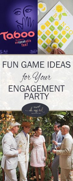 Engagement Party Ideas, Engagement Party Games, Engagement Party Activities, DIY Engagement Party, Fun Games for Parties