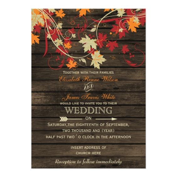 12 Chic Invites for Autumn Weddings| Wedding Invitations, Autumn Wedding, Autumn Wedding Invitations, Fall Wedding, Fall Wedding Invitations, Fall Wedding Planning, Wedding Planning, DIY Wedding Invitations. #WeddingInvitations #FallWedding #DIYWedding