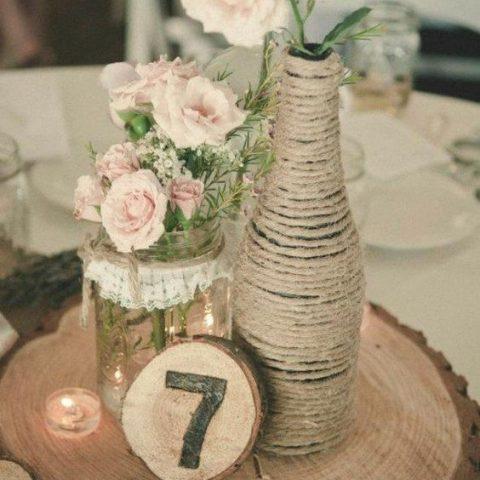 12 Wedding Centerpieces You Can Make Yourself| DIY Wedding, DIY Centerpieces, Wedding Centerpieces, Homemade Wedding Centerpieces, Wedding, Dream Wedding, DIY Wedding #DIYWedding #Wedding #WeddingHacks #WeddingCenterpieces