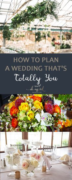 How to Plan a Wedding That's Totally YOU | Wedding, Wedding Planning, Wedding Planning TIps and Tricks, How to Plan A Wedding, Easily Plan A Wedding, Personalize Your Wedding, How to Personalize Your Wedding