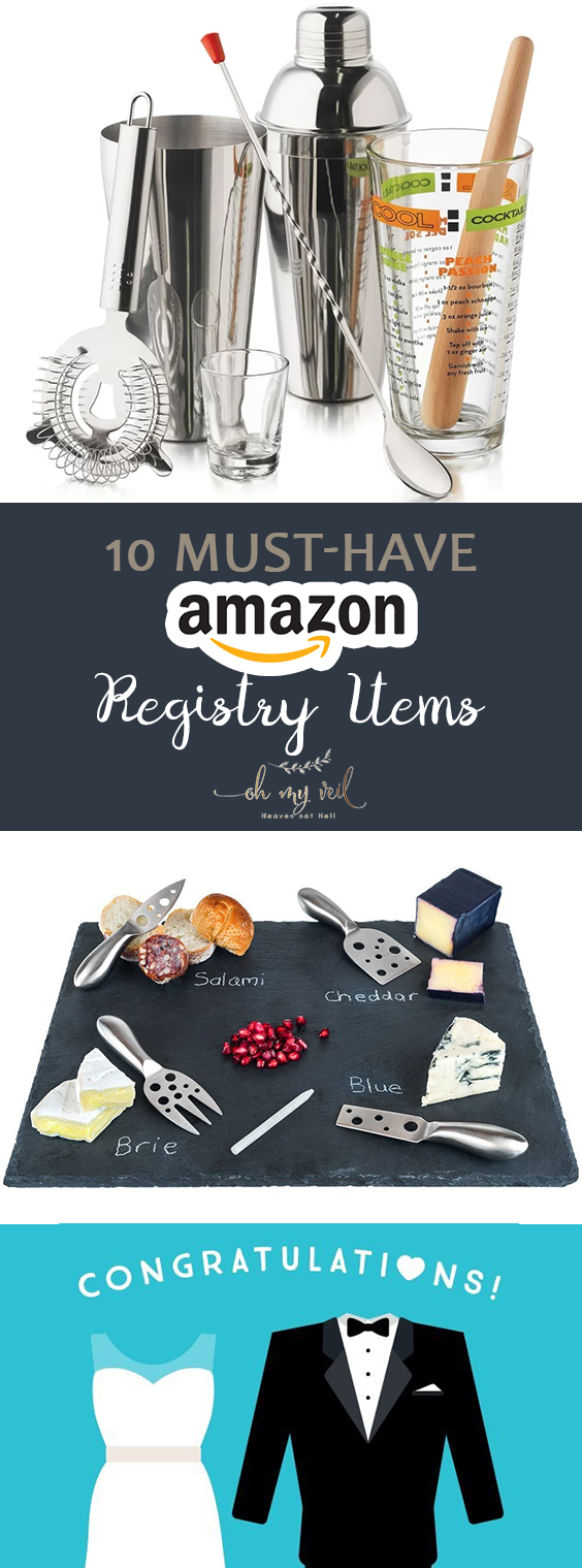 10 Must-Have Amazon Registry Items| Wedding, Wedding Registry, Wedding Registry Tips, Amazon Wedding, Amazon Wedding Registry, Wedding Registry, Wedding Registry Items #Amazon #WeddingRegistry #Wedding