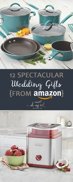 12 Spectacular Wedding Gifts {From Amazon}| Wedding, Wedding Gifts, Amazon Wedding Gifts, Wedding Gifts from Amazon, Wedding Registry. #Wedding #AmazonWedding #WeddingGifts