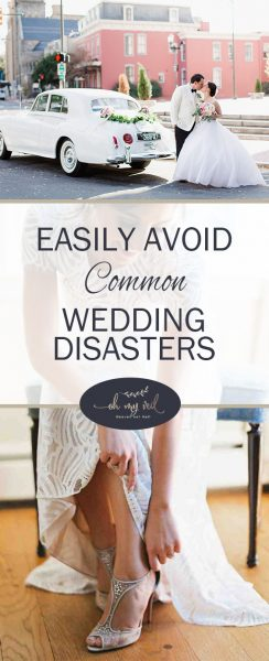Easily Avoid Common Wedding Disasters | Common Wedding Disasters, Wedding Planning, Wedding Planning Tips, Wedding, Wedding DIYs, DIY Wedding, Wedding Timeline