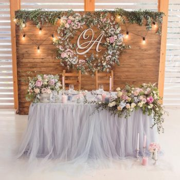 Head Table Diy Decorations Lights Tips And Tricks Ohmyveil Com