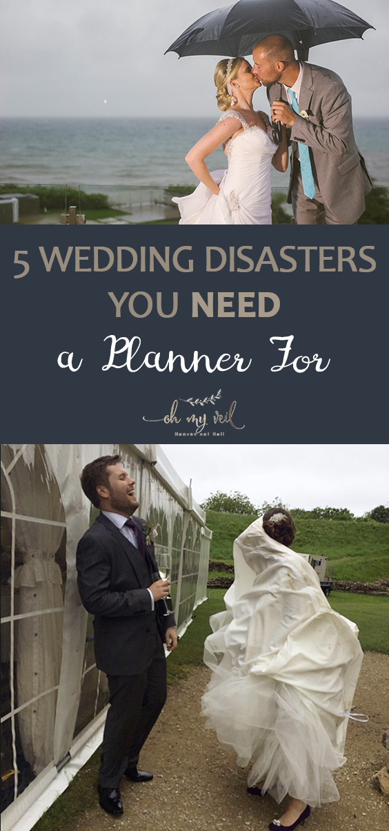 5 Wedding Disasters You NEED a Planner For | Wedding, Wedding Planning, Wedding Planning Tips and Tricks, Professional Wedding Planning, Wedding Disasters to Avoid