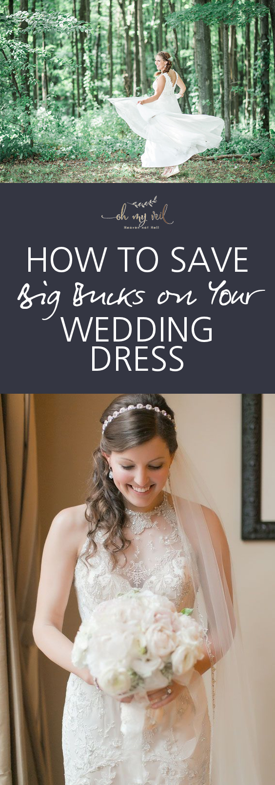 How to Save Big Bucks on Your Wedding Dress| Wedding Dress, Save Money, Save Money on Your Wedding, Saving Money, DIY Wedding, Money Saving Tips and Tricks, Spend Less, Wedding Dress #Weddings #WeddingDress #SaveMoney