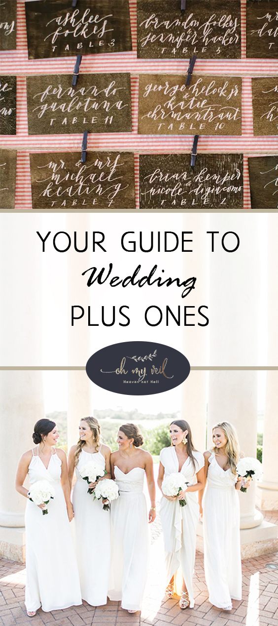 "Your Guide to Wedding ""Plus Ones"" 