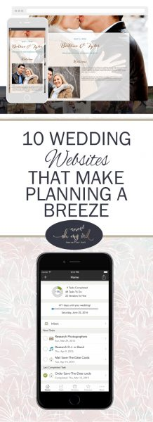 10 Wedding Websites That Make Planning a Breeze| Wedding Websites, Easy Wedding Websites, Wedding Websites for Planning, Wedding Website Planning, Planning A Wedding, How to Plan a Wedding, Wedding Planning #WeddingPlanning #WeddingWebsites #DIYWedding