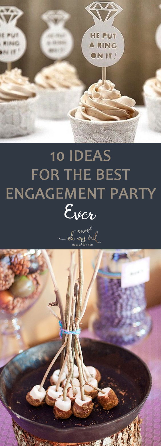 10 Ideas for the Best Engagement Party Ever| Wedding Planning, Engagement Party, Engagement Party Ideas, Wedding Ideas, Wedding Party Ideas, Engagement Party Planning, Wedding Planning, Wedding Party Planning