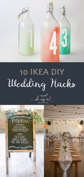 10 IKEA DIY Wedding Hacks, Wedding Hacks, Wedding Hacks Budget, Wedding Hacks Tips, Ikea Wedding Hacks, Ikea Wedding, Ikea Wedding Decor, Ikea Wedding Ideas