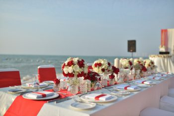 Wondering how to pull off a red wedding? Red weddings are timeless and will never go out of style. Red weddings work for many different seasons and various locations. Learn how to have a red wedding that matches your personality and style here at OhMyVeil.com. You will love these ideas!