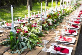 Wondering how to pull off a red wedding? Red weddings are timeless and will never go out of style. Red weddings work for many different seasons and various locations. Learn how to have a red wedding that matches your personality and style.