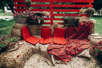 Wondering how to pull off a red wedding? Red weddings are timeless and will never go out of style. Red weddings work for many different seasons and various locations. Learn how to have a red wedding that matches your personality and style here at OhMyVeil.com. Your guests will be amazed at how beautiful it is!