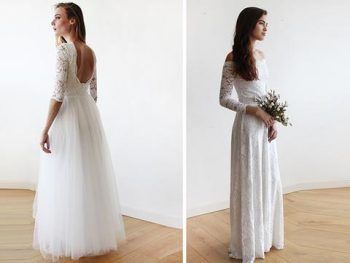 "Winter Wedding Dresses That Look ""HOT"" 