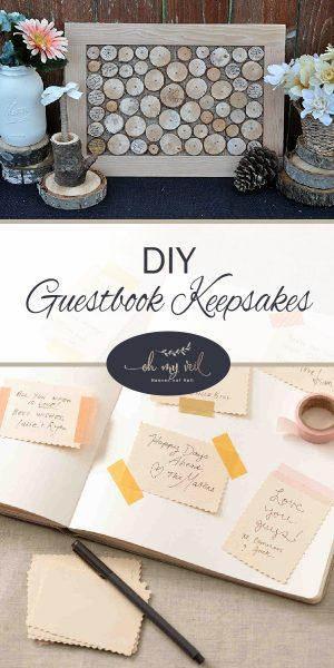 Guestbook Keepsakes | Guestbook Ideas | DIY Guestbook Keepsake Ideas | DIY Guestbook Keepsakes | Unique Guestbook Ideas | Unique Guestbook Keepsakes