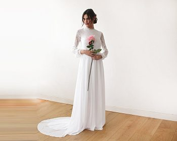 High Necklines | Wedding Planning | High Neckline Wedding Dresses | Wedding Dresses | Wedding Dresses with High Necklines | Wedding Dress Ideas