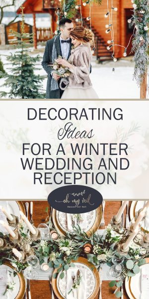 Remarkable Decorating Ideas For A Winter Wedding And Reception Oh My Home Remodeling Inspirations Gresiscottssportslandcom