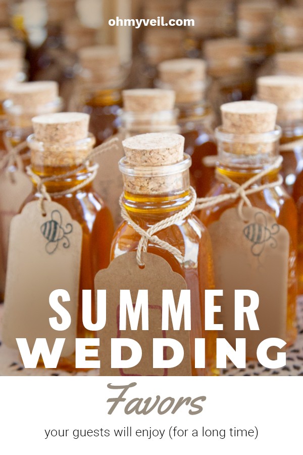 Summer Wedding Favors For Guests