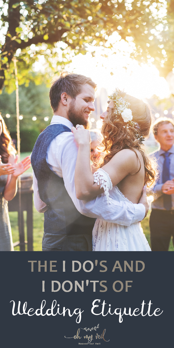 wedding etiquette | etiquette | wedding | wedding guests | how to act at weddings