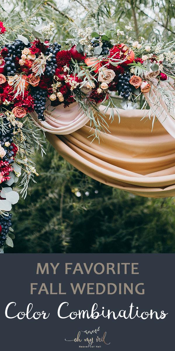 fall wedding color combinations | fall wedding | fall wedding colors | wedding colors | fall | wedding | wedding color combinations