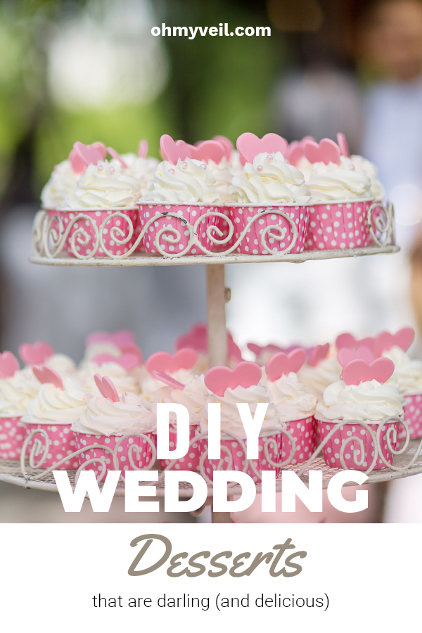DIY wedding desserts | DIY | wedding desserts | desserts | recipes | dessert recipes | wedding dessert recipes