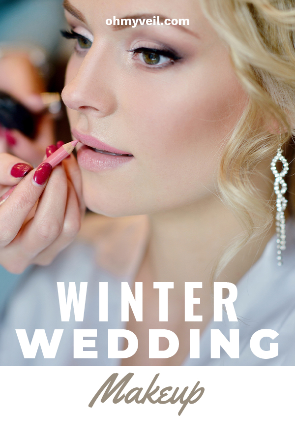 So you're having a winter wedding? Exciting!! One thing to remember is that makeup for winter is very different than in the warmer months. We have tips for you to look your best on the big day. These simple little tricks will really make you stand out. #weddingmakeuptips #winterwedding