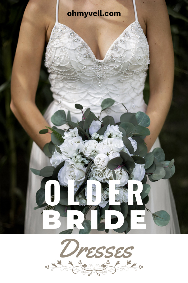 It's often you find women waiting to get married, or maybe it is a second marriage. No matter the reason, older brides should feel just as beautiful as younger women do. We've collected some ideas for older bride dresses that are simply stunning. Read the post to learn more about these beautiful dress ideas. #weddingdressesforolderbrides #olderbridedresses #weddingdresses