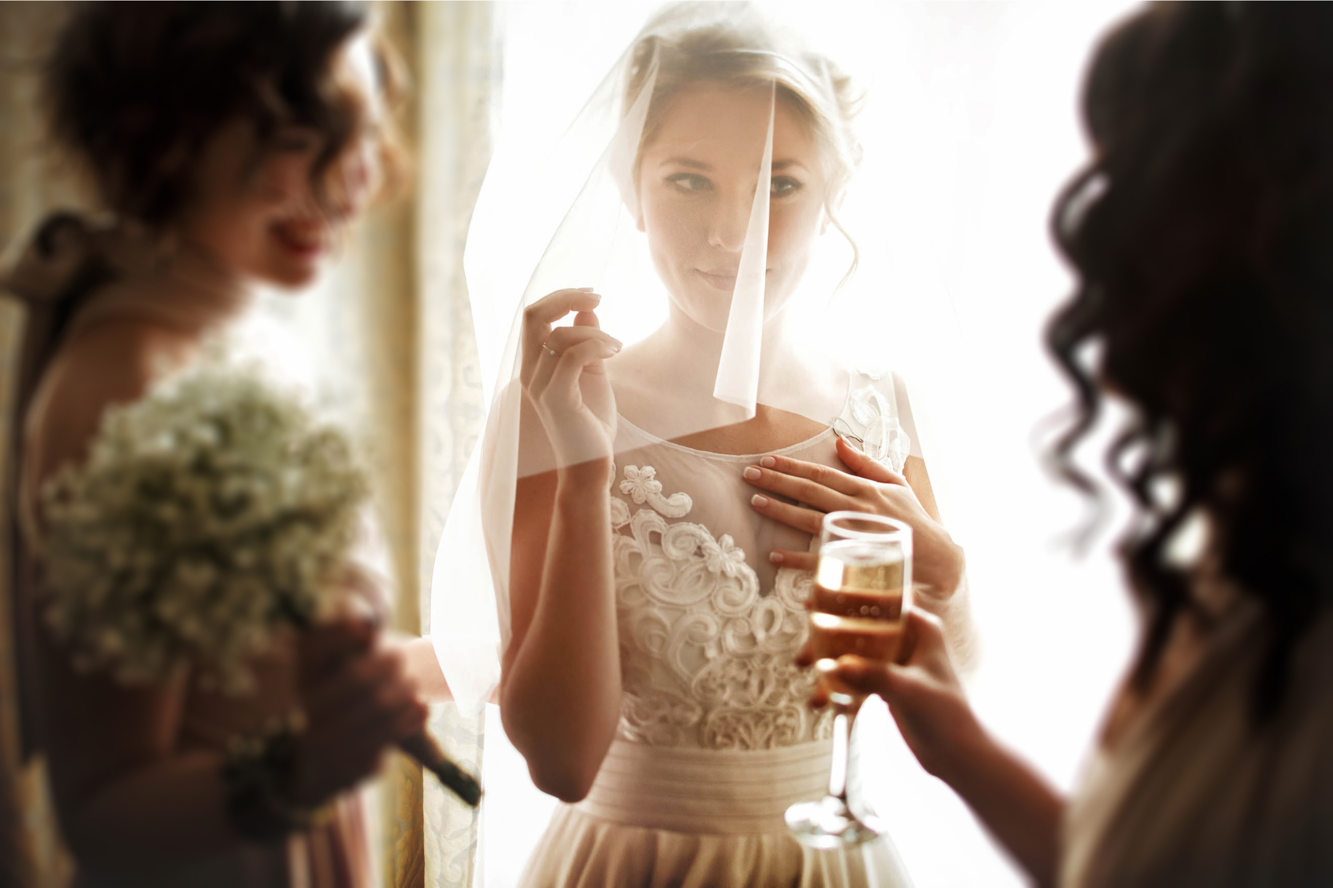 Picking the perfect veil for your wedding can be overwhelming. My guide to veil lengths will help you decide which is right for you. Having a veil that covers your face is very traditional.