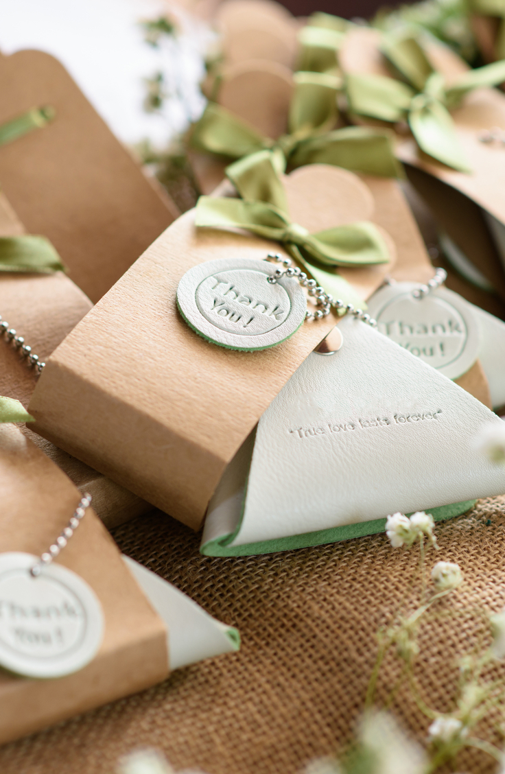 Planning a wedding? Yes? In that case, I'm sure you're thinking about wedding favors! Though they aren't required at a wedding, I love to tell each of my clients to make sure they have some planned. Everyone likes a present, and your wedding favors actually say a lot about you and your groom as a couple. Check out my list of unique wedding favor ideas!