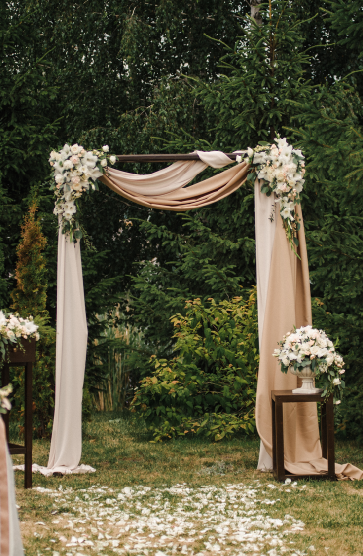 Whether you choose to do your ceremony under one, or if you just want one to take photos under, a DIY wedding arch is a must-have for any bride this year. You will love these beautiful outdoor arch ideas!