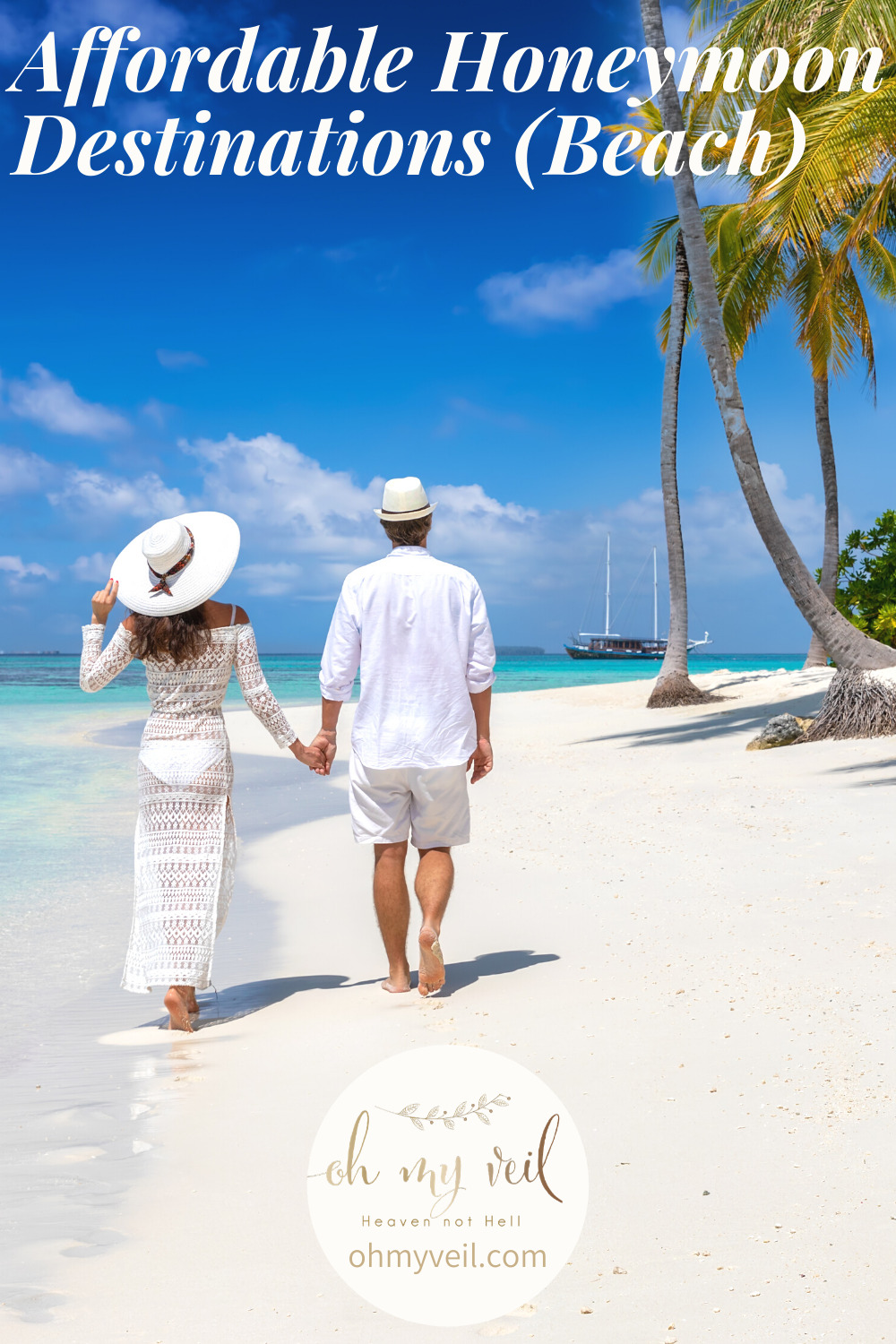 A beach honeymoon is perfect for those who love sun and showing off their honey. We have some amazing beach locations that are affordable honeymoon destinations. You won't want to miss these amazing places. Keep reading! #honeymoondestinations #beachhoneymoondestinations #Greecehoneymoons