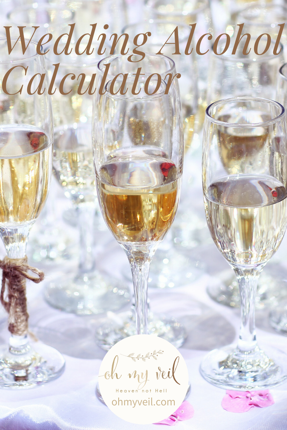 There are a lot of things to consider for a wedding reception. Alcohol for the guests is a big one. Don't worry, we have done the calculations for you. Use this wedding alcohol calculator so you don't run short on the booze. #weddingalcoholcalculator