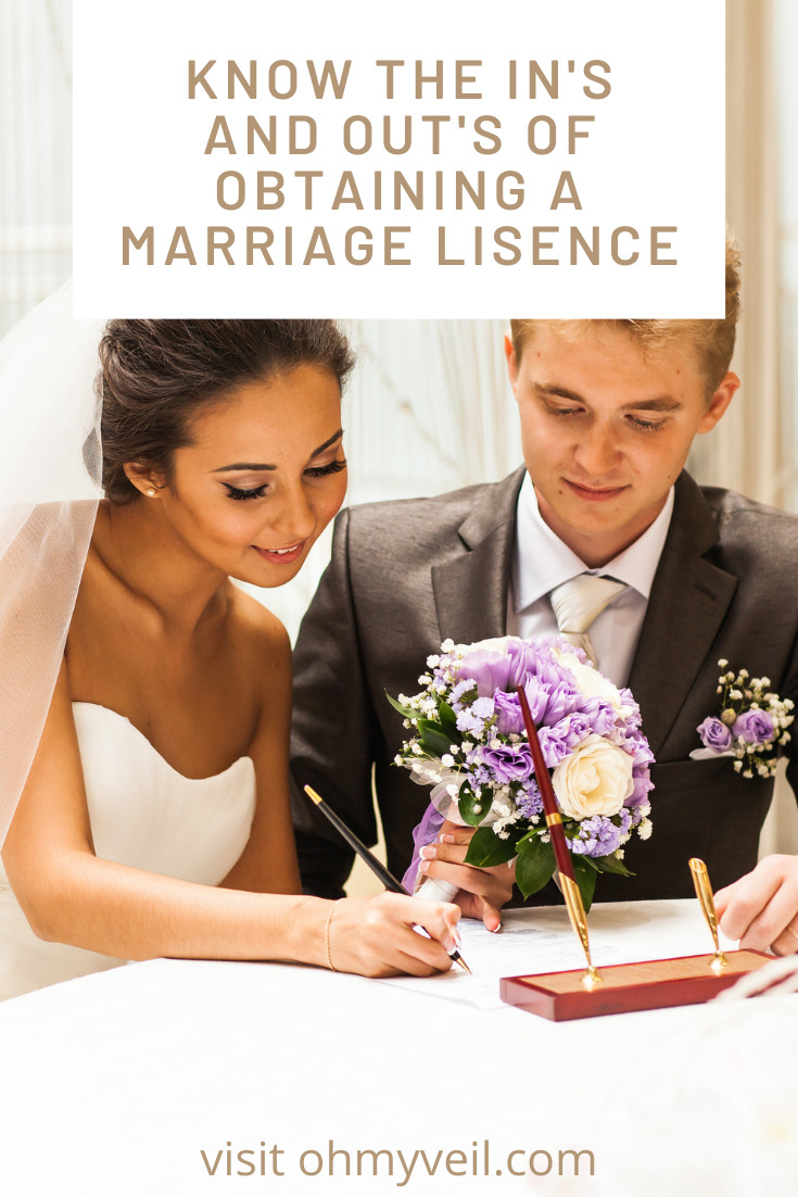 Ohmyveil.com is where to go if you're getting to tie the knot. Find out all you should know about marriage and weddings! Check out this info about marriage licenses before you try to get yours!