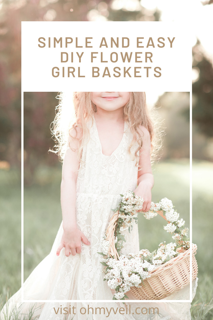 Ohmyveil.com is littered with tons of wedding tips, ideas, and inspiration! Get ready for your big day down to the finest details. If you have a cute flower girl walking down the aisle, make sure she has a cute basket to carry! Check out these amazing flower girl baskets you can make yourself!